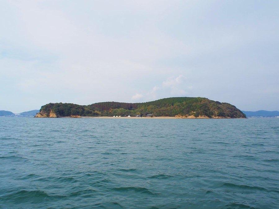 貸切無人島「くじら島」で撮影会、開催しました!画像