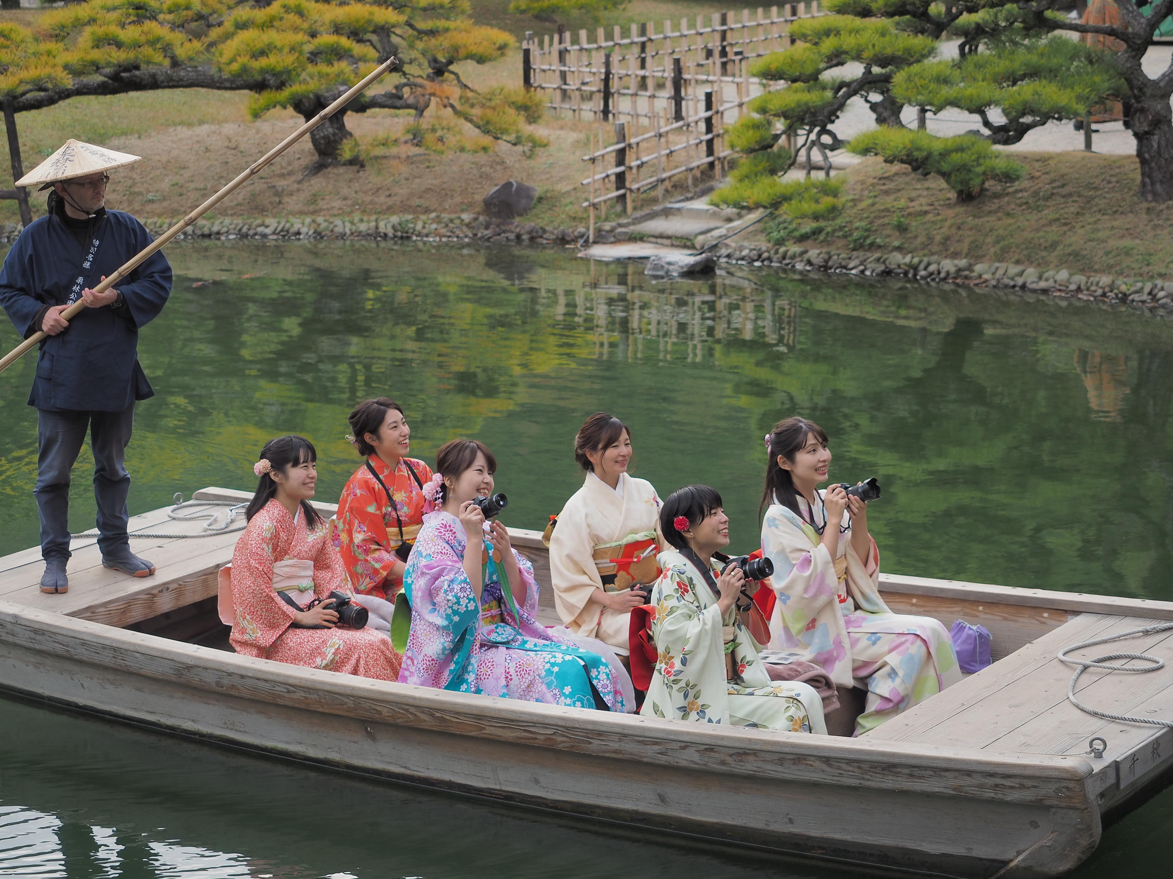 【香川県】「栗林公園」で、和をたのしむ撮影会!画像