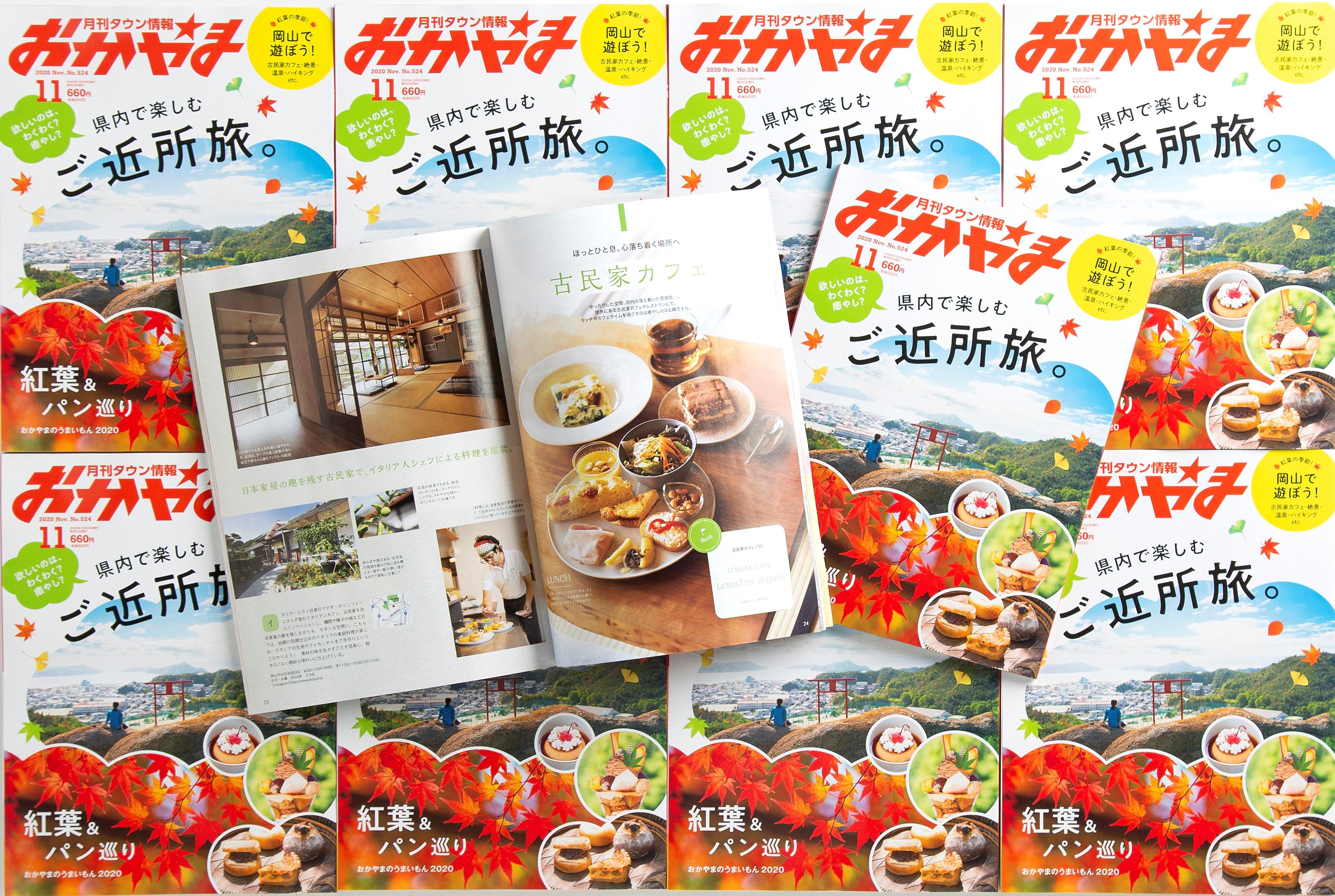タウン情報おかやま11月号に瀬戸内カメラガールズの写真が掲載されました!画像